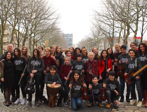 Internationale muziekuitwisseling project Klezmagic Junior
