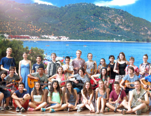Erasmus+ youth music exchange project  Edremit 2015